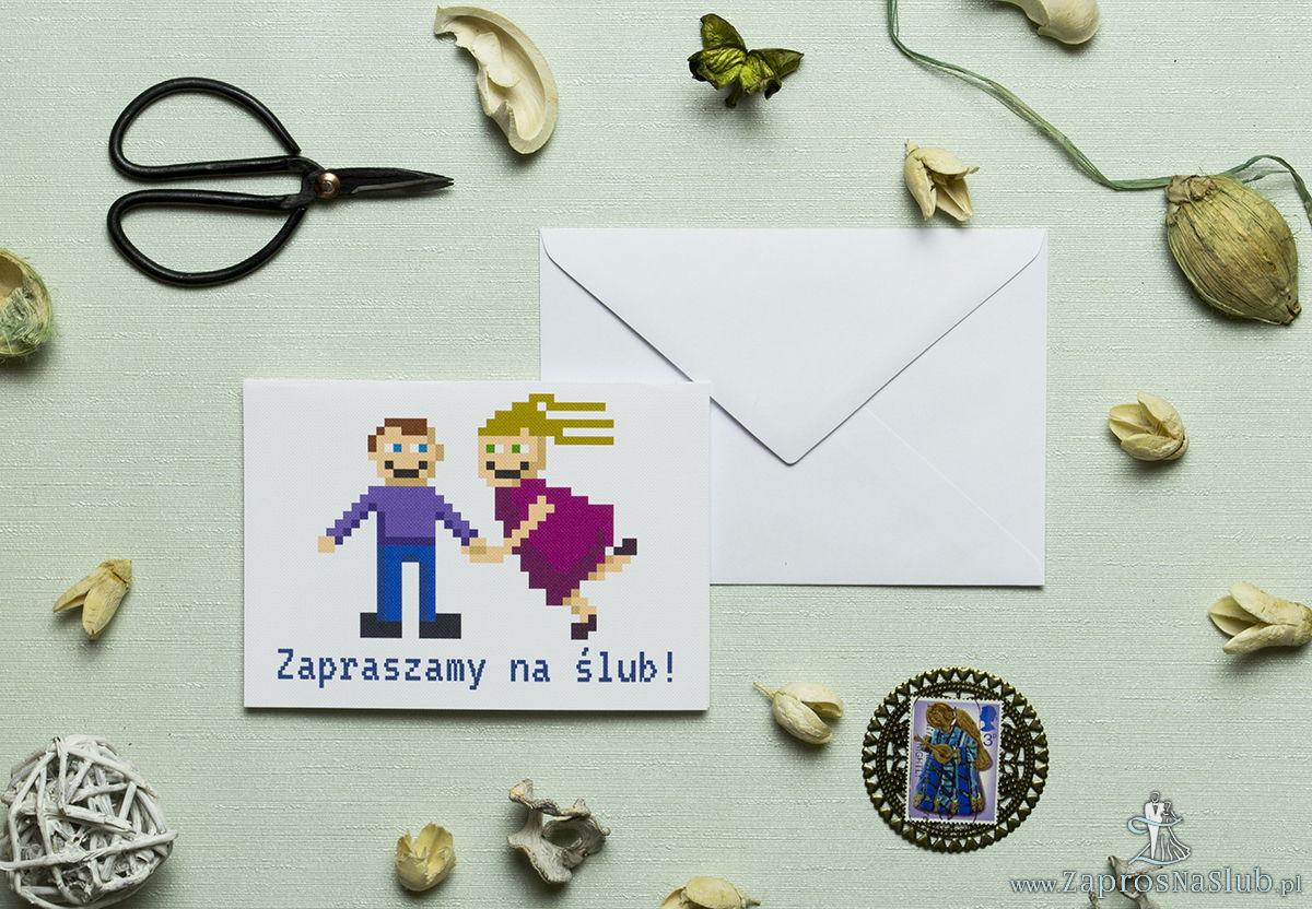 Śmieszne Zaproszenie ślubne ZaprosNaSlub