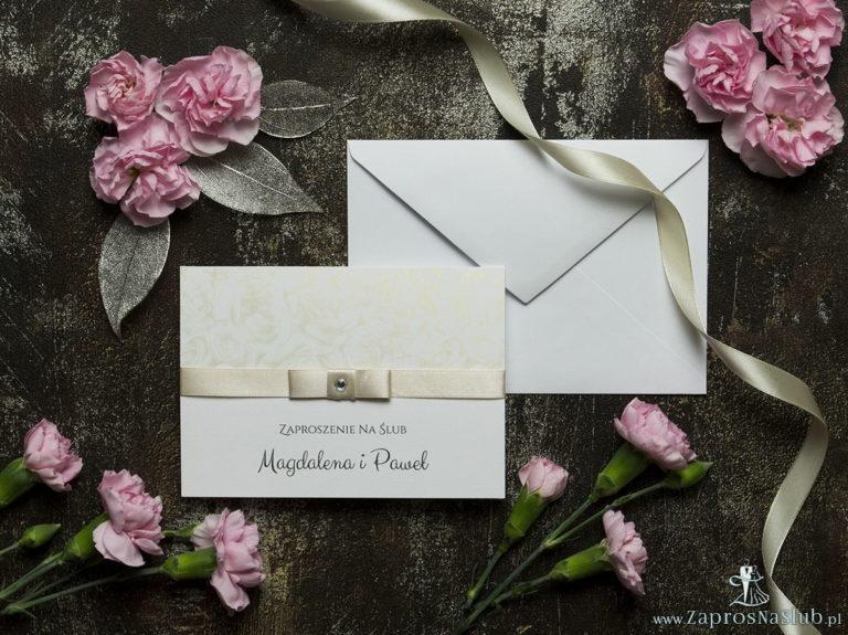Zaproszenia ślubne Z cyrkoniami - ZaprosNaSlub - Zaproszenia ślubne