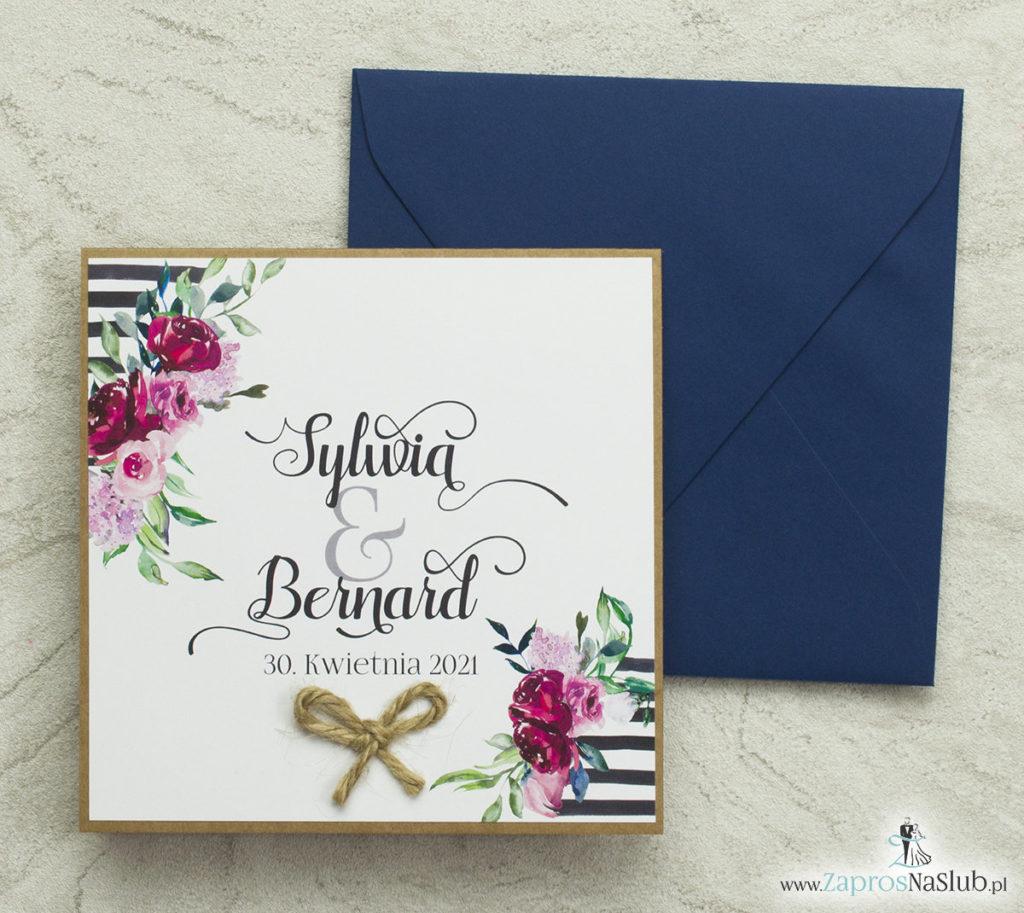 modne-zaproszenia-ślubne-z-kwiatami-liśćmi-modną-czcionką-sznurkiem-jutowym-papierem-eko-wklejanym-wnętrzem