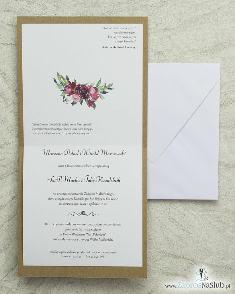 wklejane-wnętrze-biała-koperta-modne-zaproszenia-ślubne-z-piękną-czcionką-kwiatowe