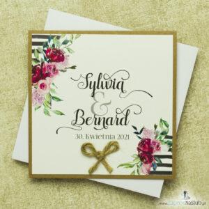 zaproszenia-slubne-na-papierze-eko-z-kwiatami-i-sznurkiem-jutowym-wklejane-wnetrze-ozdobna-czcionka-biala-koperta