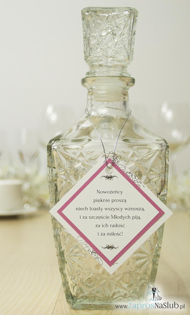 eleganckie-zawieszki-na-alkohol-w-kształcie-rombu-cyrkoniami-i-różowym-papierem-perłowym