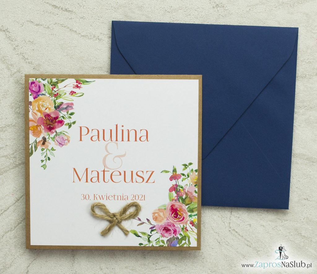 kwiatowe-zaproszenia-ślubne-z-modnym-wzorem-polnych-kwiatów-i-liści-sznurek-jutowy-papier-eko-wklejane-wnętrze