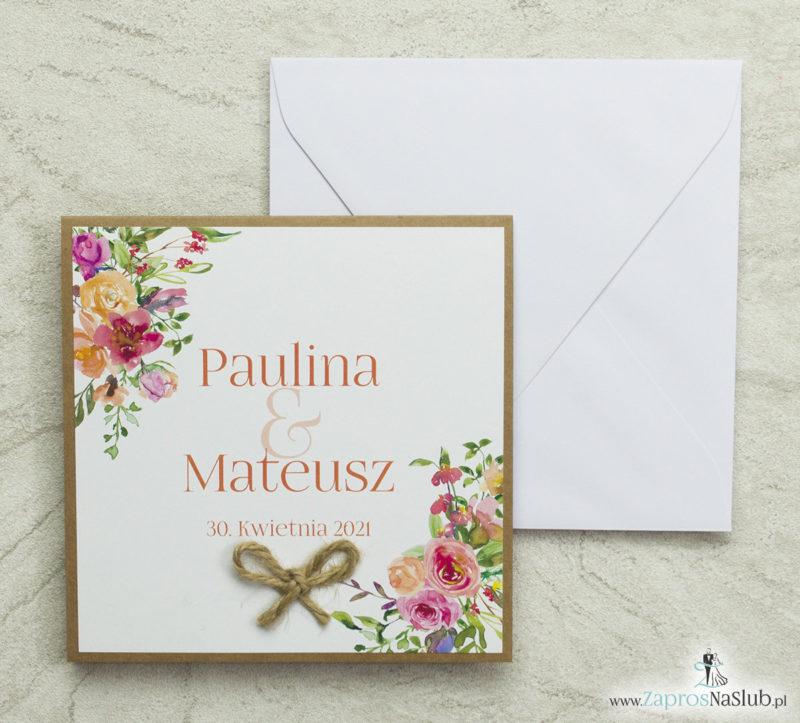 piękne-zaproszenia-ślubne-z-modnym-wzorem-kwiatowe-wzory-sznurek-jutowy-papier-eko-biała-koperta