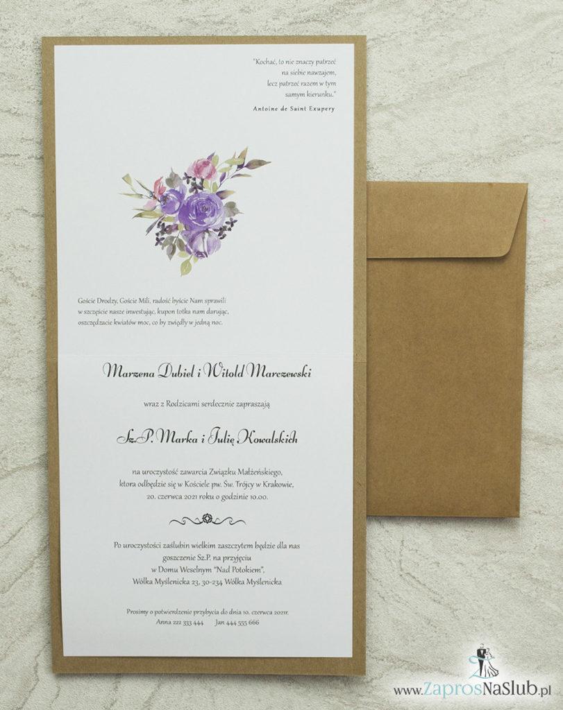 wklejane-wnętrze-nowoczesne-modne-zaproszenia-ślubne-piękna-czcionka-eko-kwiatowe-koperta-eko