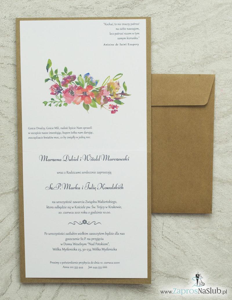 wklejane-wnętrze-zaproszenia-ślubne-kwiatowe-eko-koperta-eko-modne