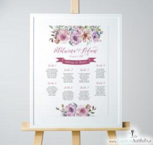 plan-stołów-różowe-kwiaty-kontury-kwiatów-PSD-10003 a3 pion 35