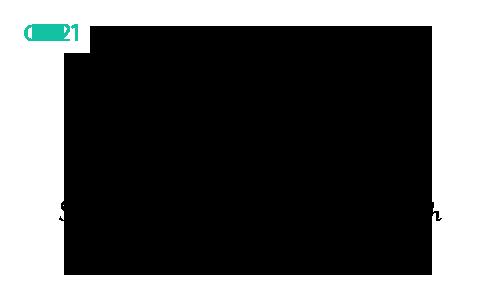 Dłuższy fragment czcionki CZ-21