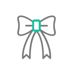 Wstążki - Zaproszenia z żółto-zielonym motywem roślinnym, satynową wstążką oraz kokardką. ZAP-17-01