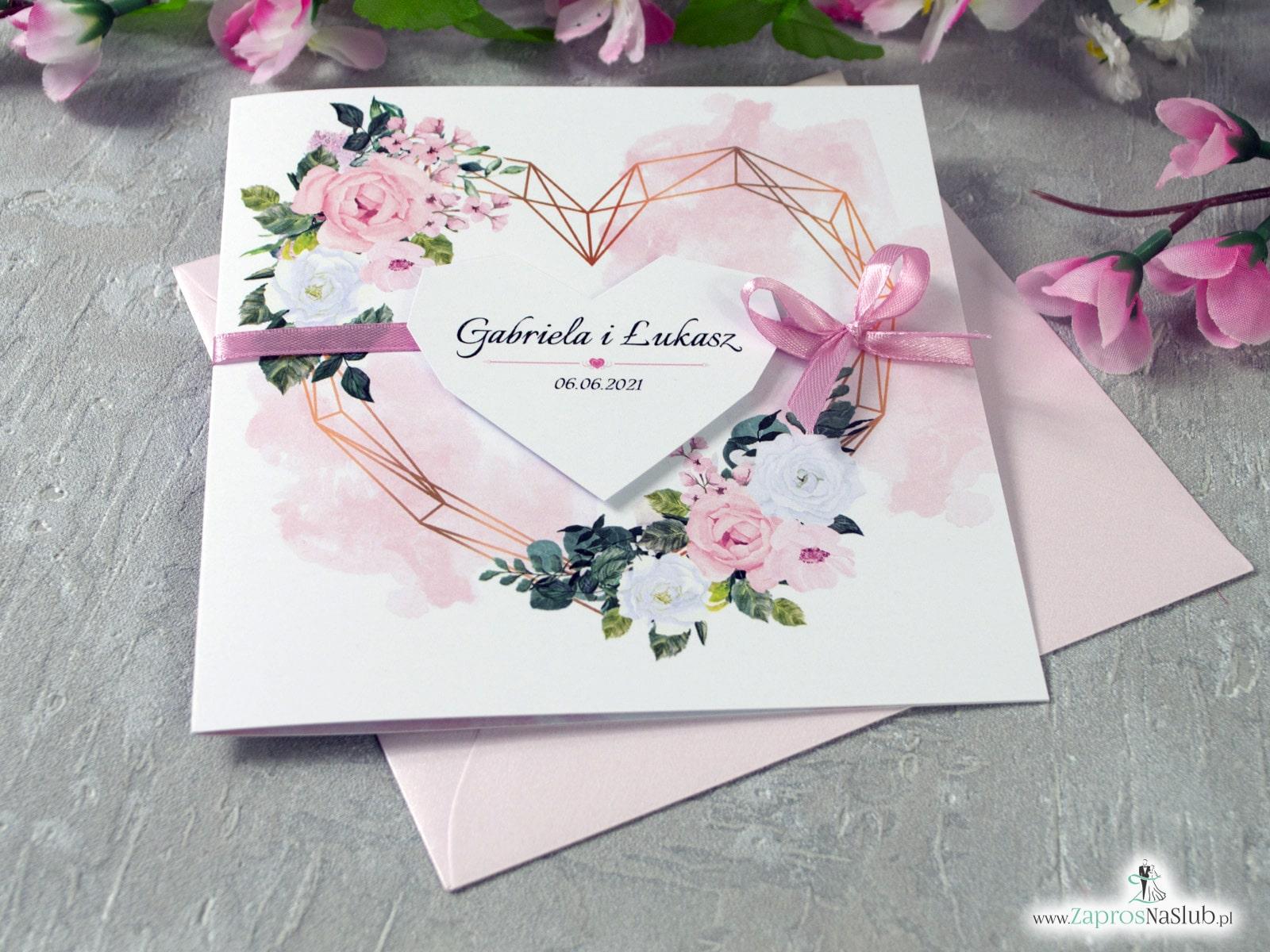 Zaproszenia ślubne wiosenne i letnie ZaprosNaSlub