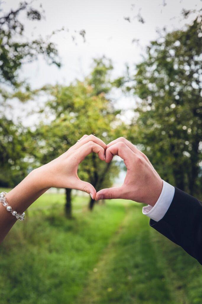 Zaproszenie ślubne z sercem ZaprosNaSlub
