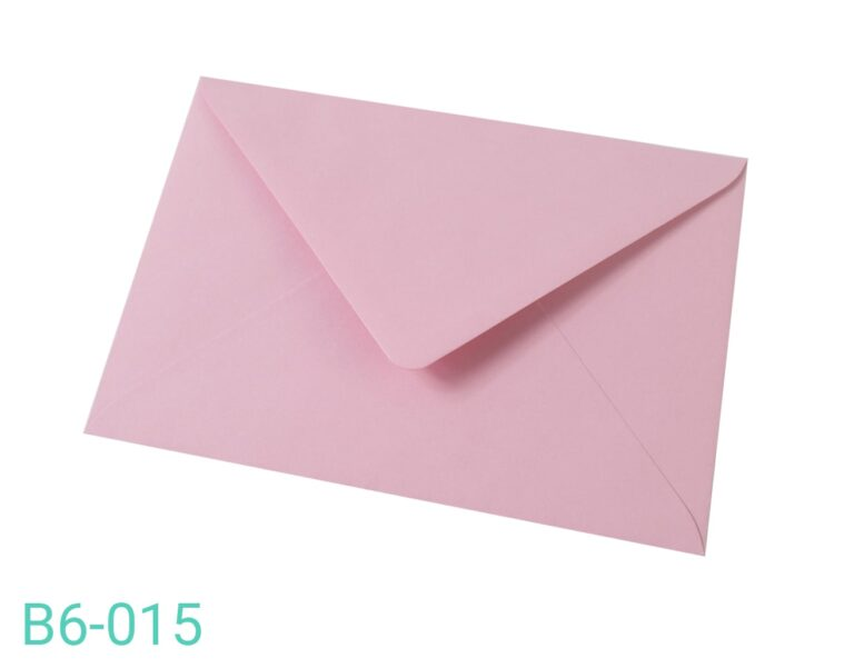 Koperta B6 Różowa