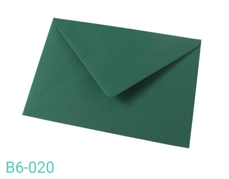 Koperta B6 Ciemnozielona