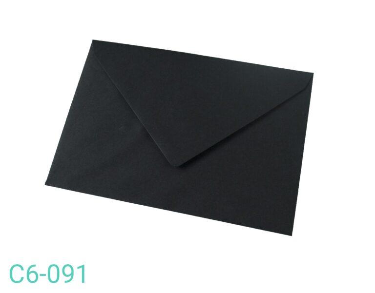 Koperta C6 Czarna