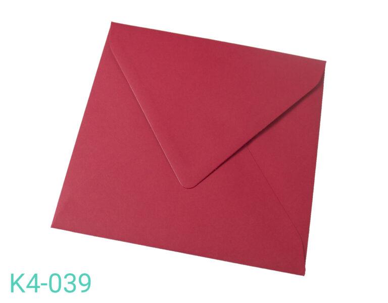 Koperta K4 Czerwona