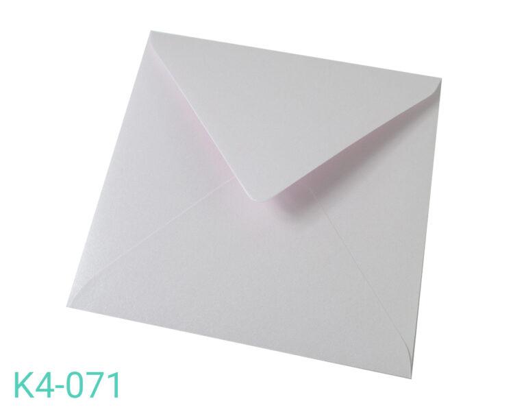 Koperta K4 Różowa perłowa