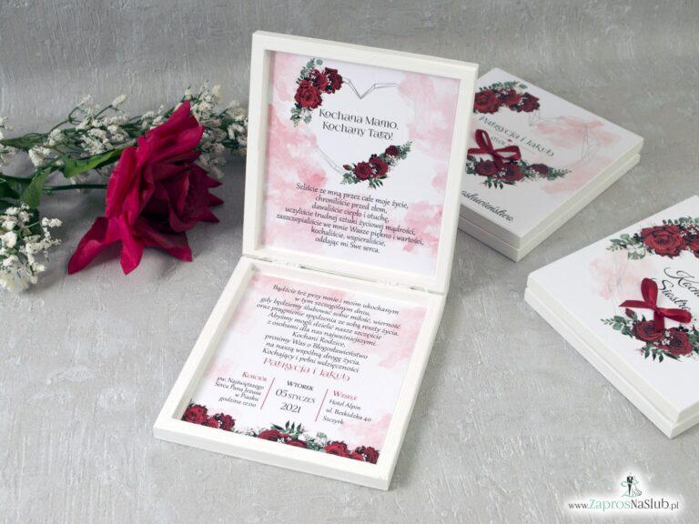 Zaproszenia ślubne dla rodziców - Zaproszenia ślubne ZaprosNaSlub