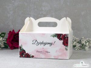 Pudełko na ciasto z czerwonymi różami PNC-41-09