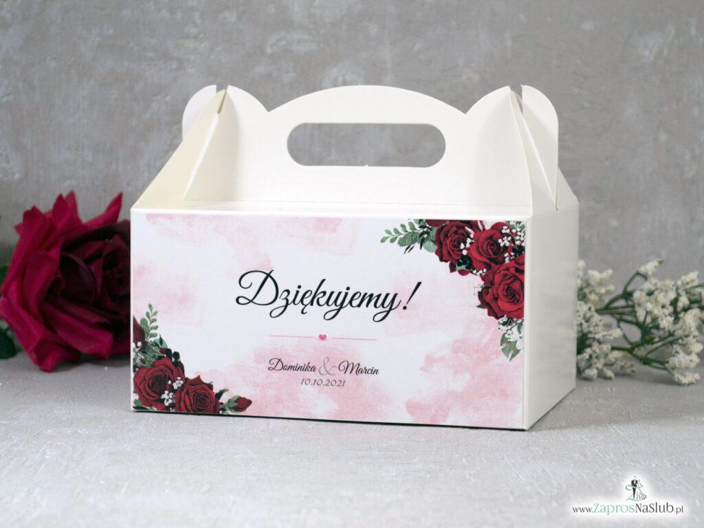Pudełko na ciasto z różami PNC-41-09
