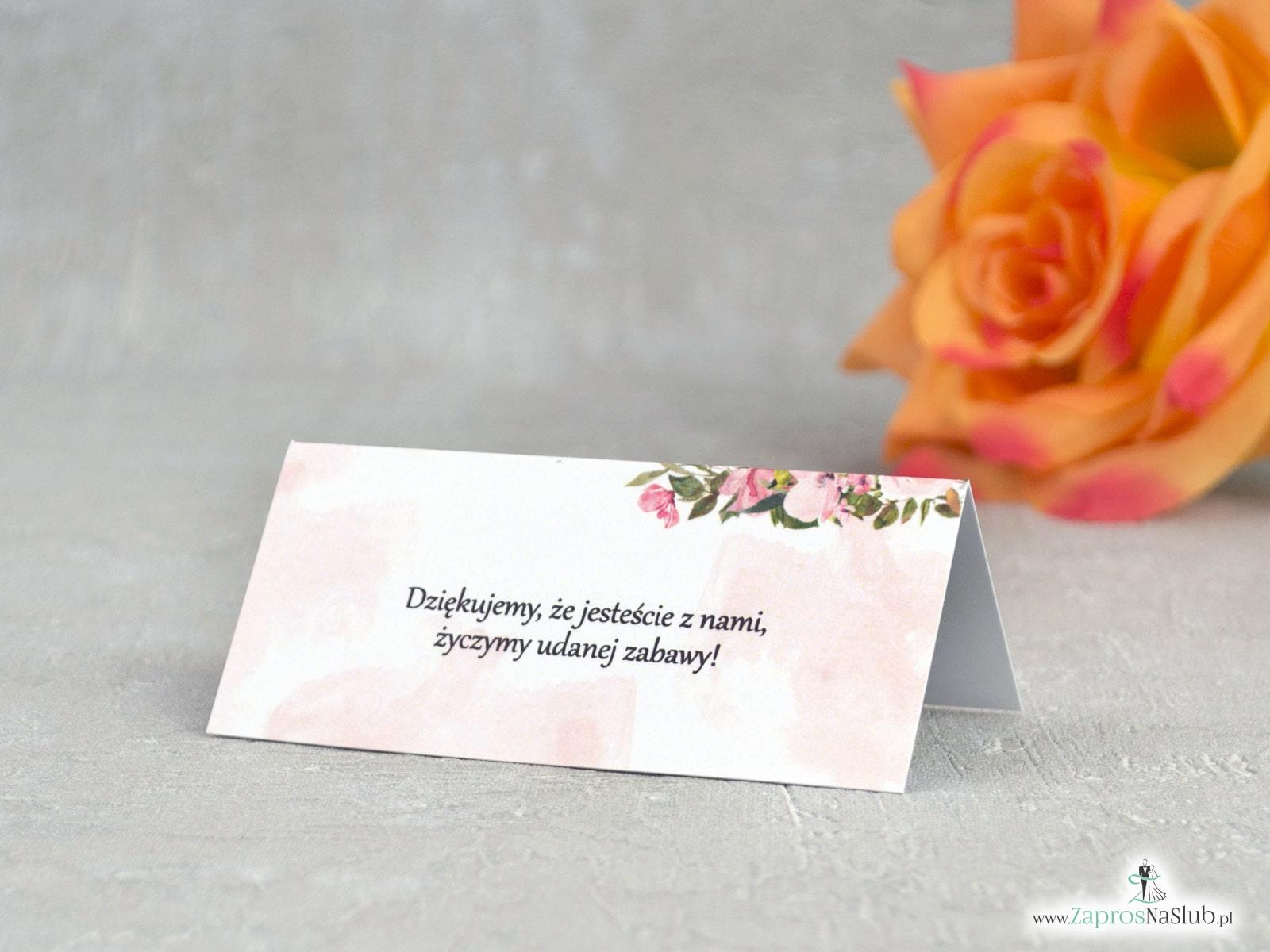 Winietki z herbacianymi kwiatami WIN-41-10